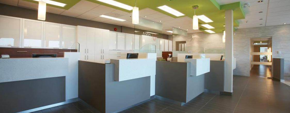 Clinique dentaire Laval - Salle d'attente