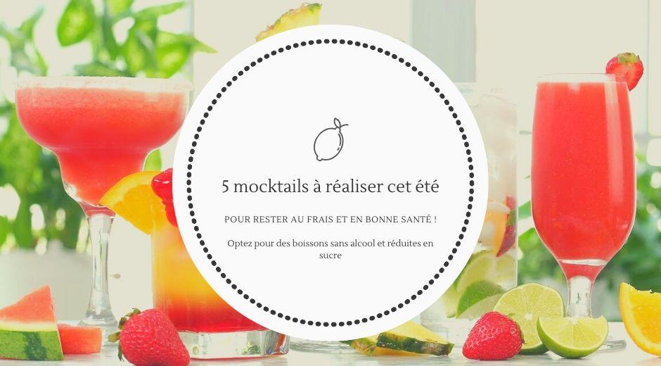 Mocktail recette - Fortin Poirier